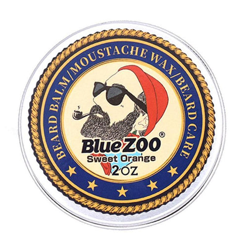 Blue ZOO Natural Beard Oil Balm Moustache Styling - Gifts and Gadgets