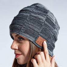 Load image into Gallery viewer, Knitted Wireless Bluetooth Music Beanie - Gifts and Gadgets
