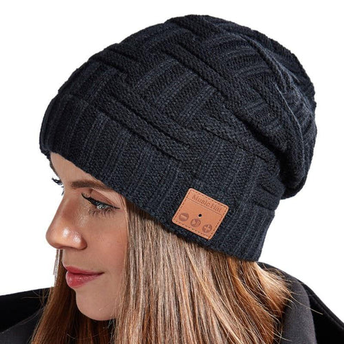 Knitted Wireless Bluetooth Music Beanie - Gifts and Gadgets