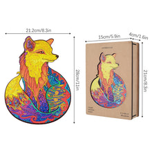 Load image into Gallery viewer, Wooden Puzzle Each Piece Is Animal Shaped - Gifts and Gadgets