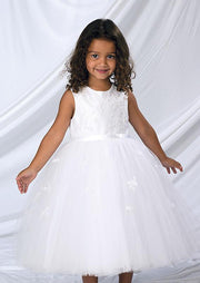Sarah Louise 070035 Pink Princess Flower Girl / Party Dress