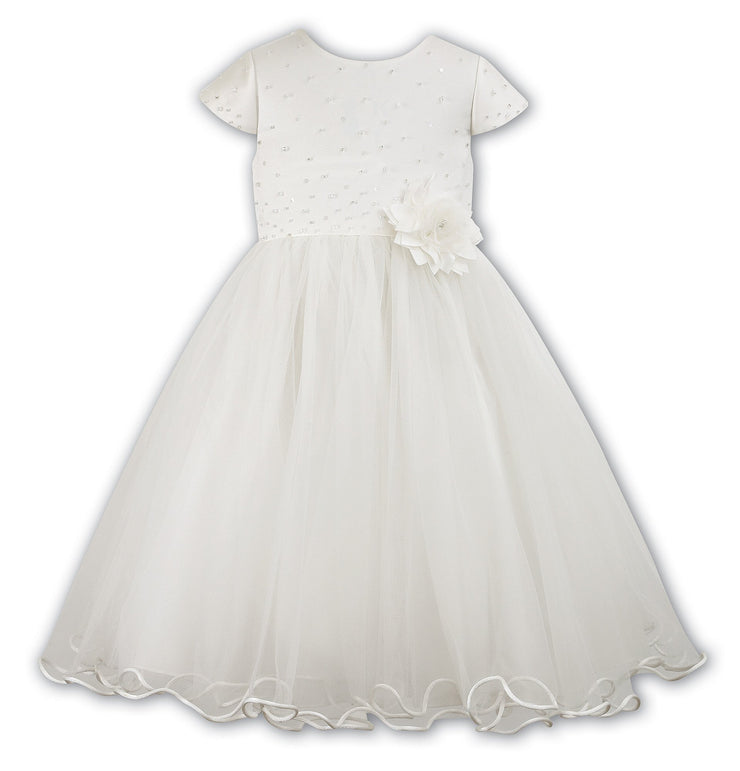 Sarah Louise 070036 White Christening & Special Occasion Dress