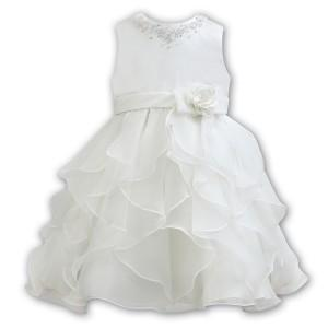 Sarah Louise 070101 Ivory Christening & Special Occasion Dress