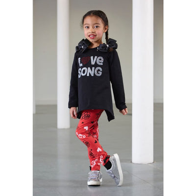 A Dee Love Song Leggings Set Nancy W183515 - Leggings Outfit