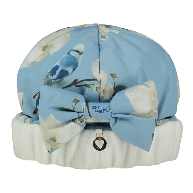 A Dee Mr Bluebird Powder Blue Printed Hat Ally W182918 - Hat