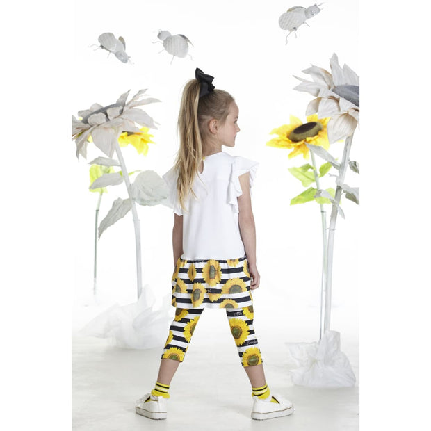 A Dee Photoprint Sunflower Leggings Set Nadine - Outfits & Sets
