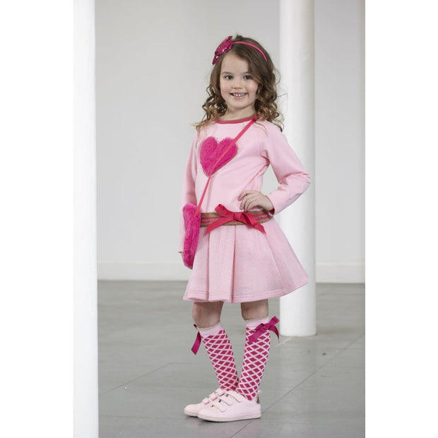 A Dee Pink Princess 2-Part Diana Party Dress W181711 - Dress