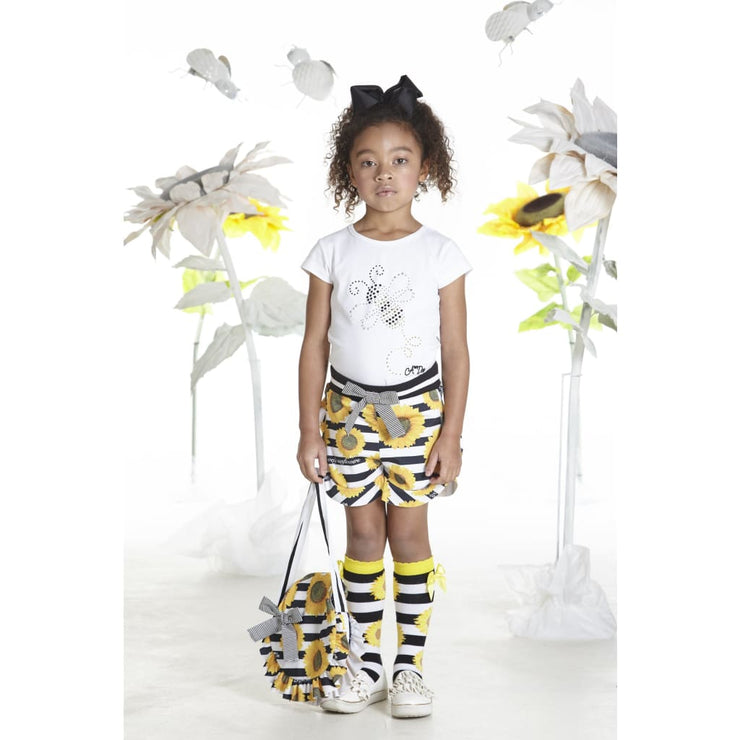 A Dee Sunflower Bee Shorts Set Siobhan - Outfits & Sets