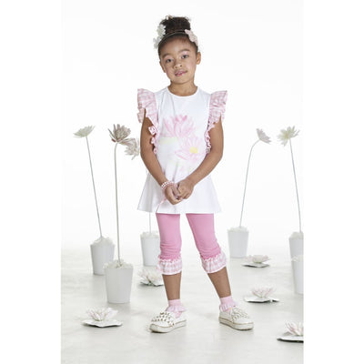 A Dee Waterlily Love Frill Leggings Outfit Nicole - Outfits & Sets