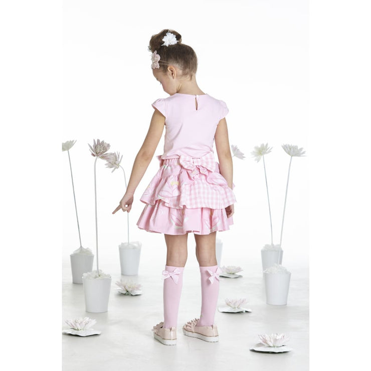 A Dee Waterlily Love Pink Skirt Outfit Sabrina - Outfits & Sets