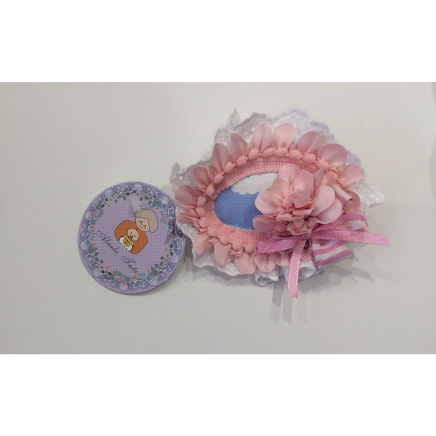 Abuela Tata Blue Clouds Hair Clip - Hair Accessories