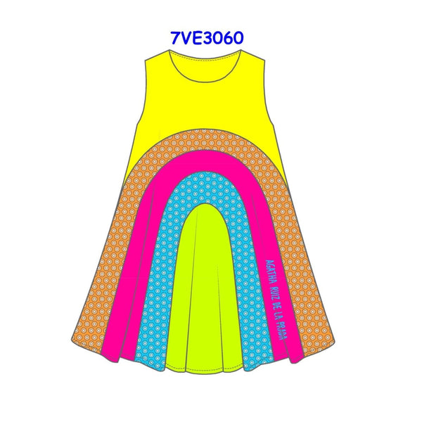 Agatha Ruiz De La Prada Rainbow Dress 3060 - Dress
