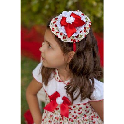 Bea Cadillac Danae Strawberry Hair Clip 18384 - Hair Accessories