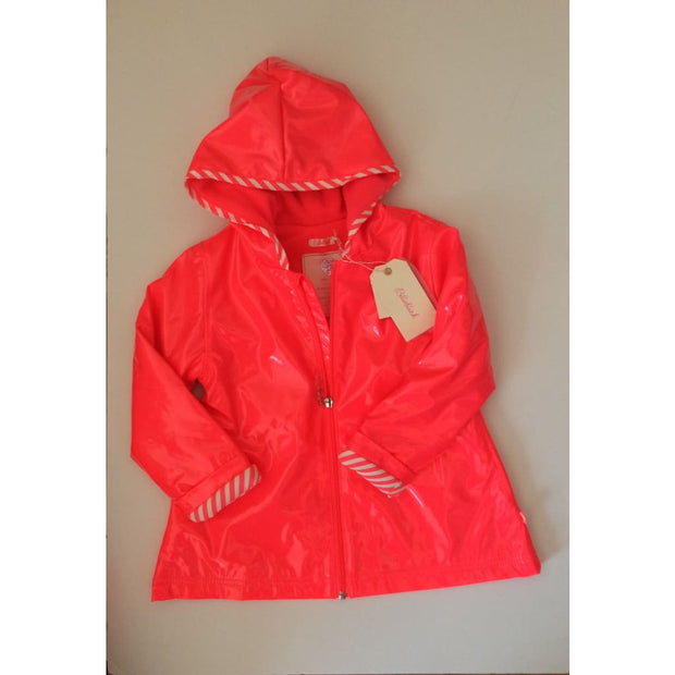 Billieblush Fuschia (Fluo Coral) Raincoat U16181 - Coat
