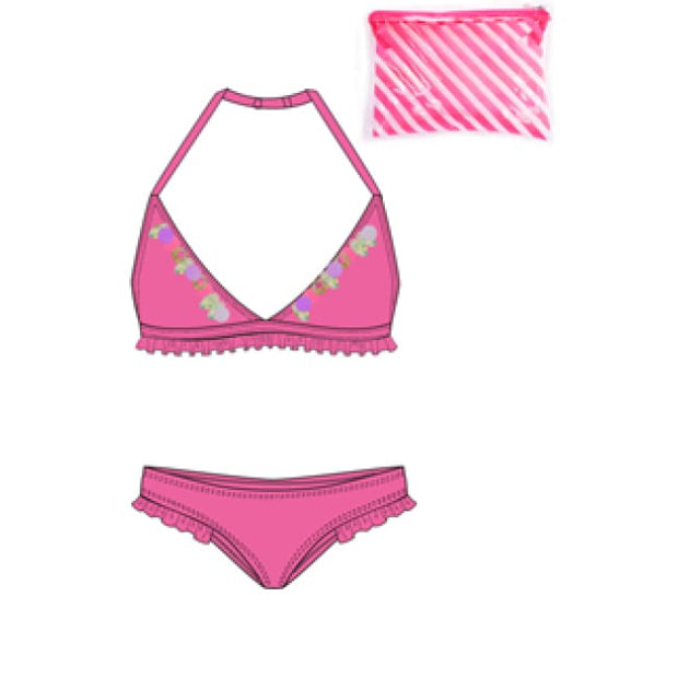 Billieblush Fuschia Pink Bikini U10309 - Swimsuits