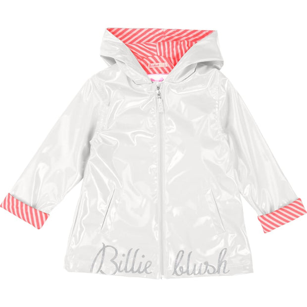 Billieblush Ivory Raincoat U16214 - Coats & Jackets