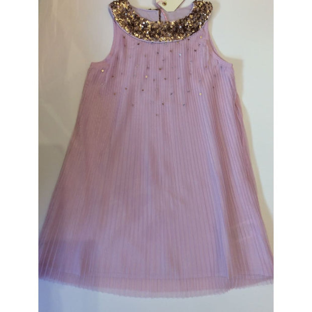 Billieblush Lilac & Gold Sequin Special Occasion Dress - Dresses