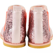 Billieblush Pink Satin & Glitter Boots U19127 - Shoes
