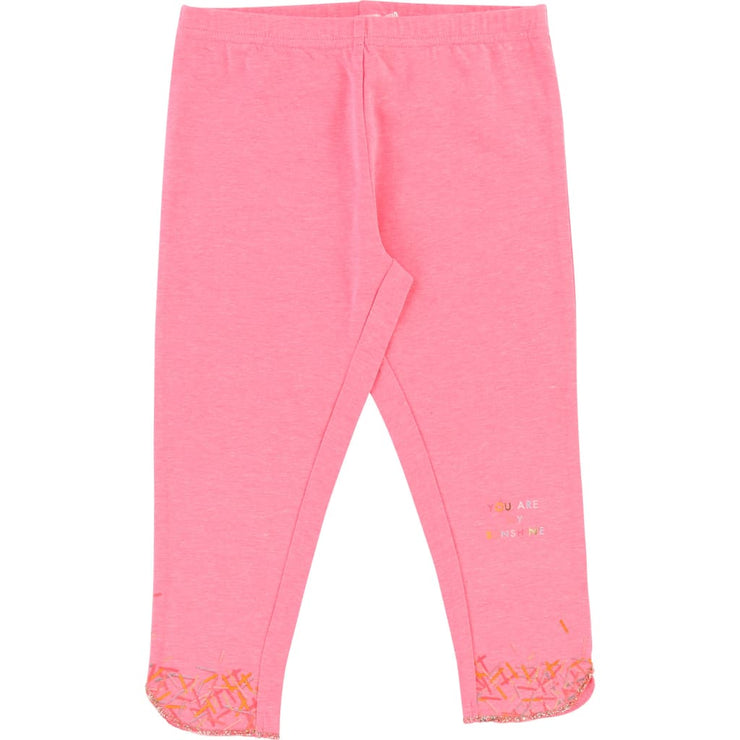 Billieblush Pink Sunshine Leggings U14247 - Leggings