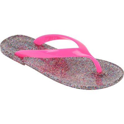 Billieblush Silver Flip Flops 19124 - Shoes