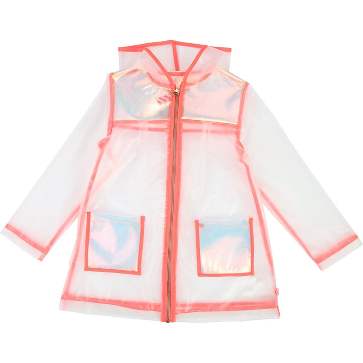 Billieblush Transparent Raincoat U16209 - Coats & Jackets