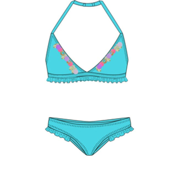 Billieblush Turquoise Bikini U10309 - Swimsuits