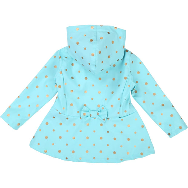Billieblush Turquoise Raincoat U16210 - Coats & Jackets