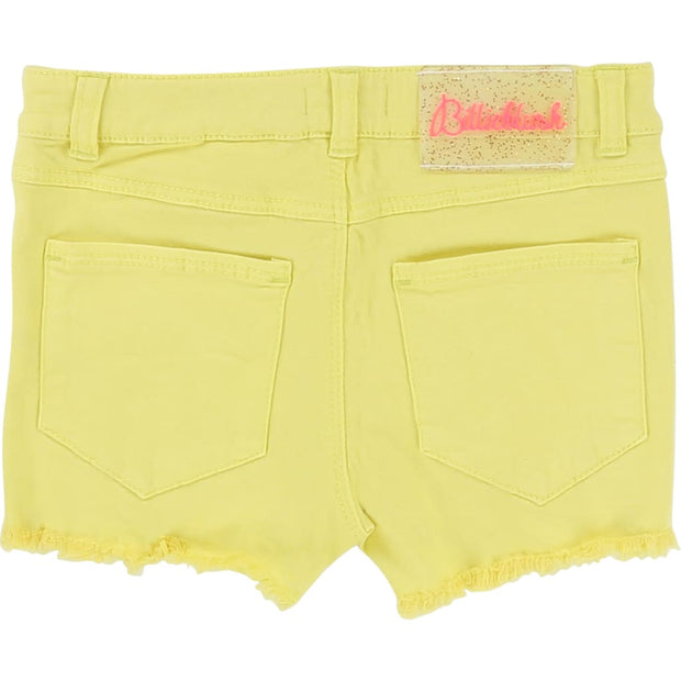 Billieblush Yellow Shorts U14236 - Shorts