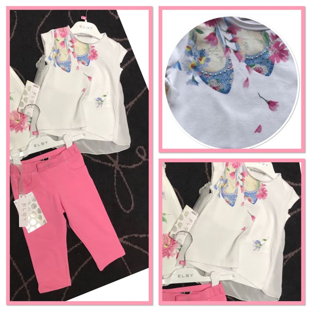 Elsy Glam Shoes Jeggings Outfit - Outfits & Sets