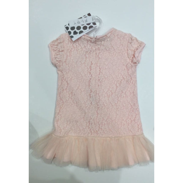Elsy Jungle Jewels Peach Pink Dress - Dresses