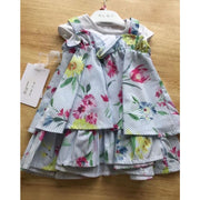 Elsy Pinafore Style Dress - Dresses