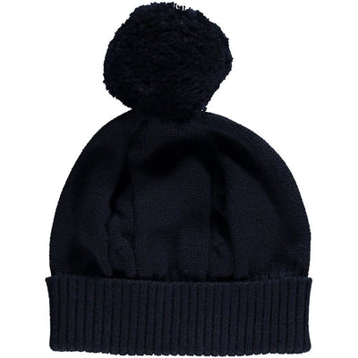 Emile Et Rose Fuzzy Hat 4658 Navy - Baby Accessories