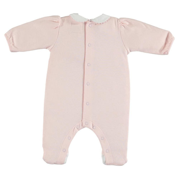 Emile et Rose Jane Pale Pink Bunny All in One - Sleepsuits & all in ones