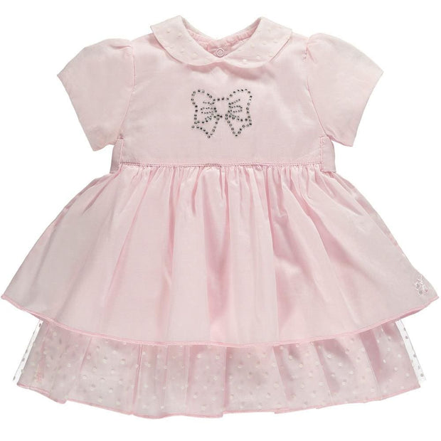 Emile Et Rose Keisha Diamanté Bow Dress - Dress