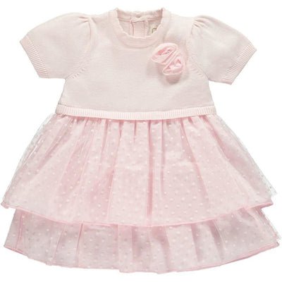 Emile Et Rose Kesia Pink Tulle Dress & Pants - Dress