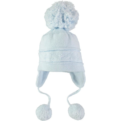 Emile Et Rose Pale Blue Hat 4713 - Baby Hat