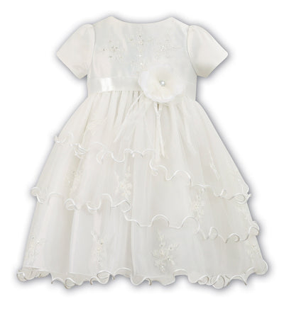 Sarah Louise 070016 Ivory Christening & Special Occasion Dress