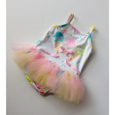 Kate Mack Ice Cream Social Tutu Swimsuit - Swimsuits