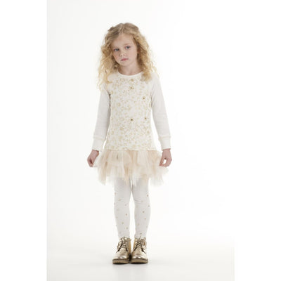 Kate Mack Spun Gold Cream Dress 575 - Dress