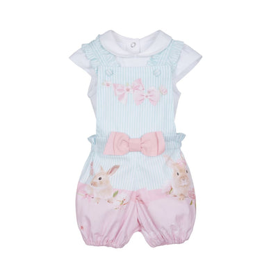 Lapin House Cute Bunnies Dungarees Outfit - Outfits & Sets