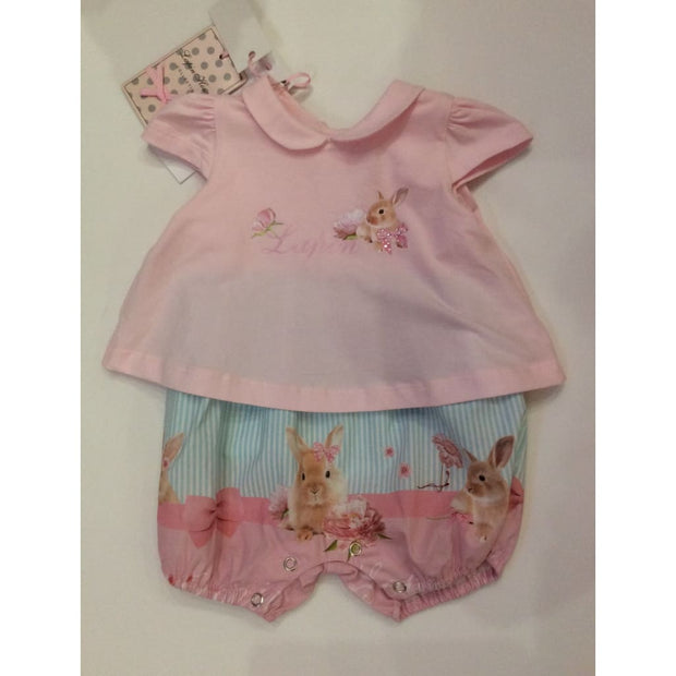 Lapin House Cute Bunnies New Baby Gift Babysuit - Babysuits