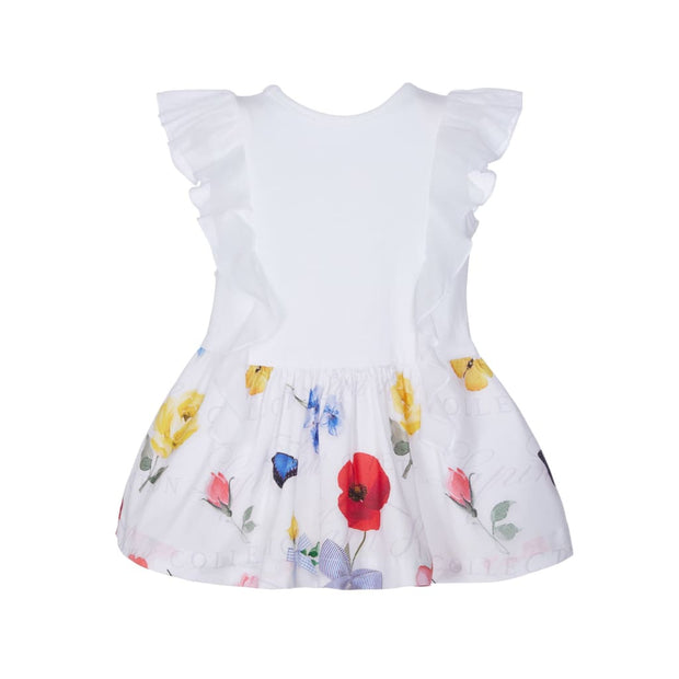 Lapin House Cute White Dress - Dresses
