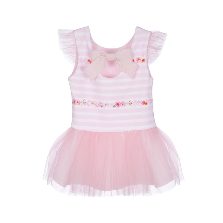 Lapin House Pink Tulle Dress - Dresses