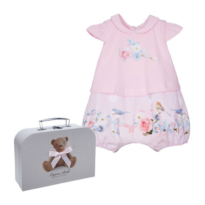 Lapin House Pretty Bird New Baby Gift Babysuit - Babysuits