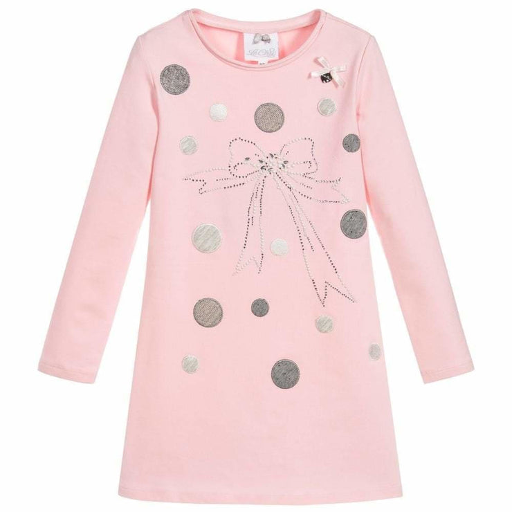 Le Chic Aw18 Pink & Grey Casual Dress C8085861 - Dress