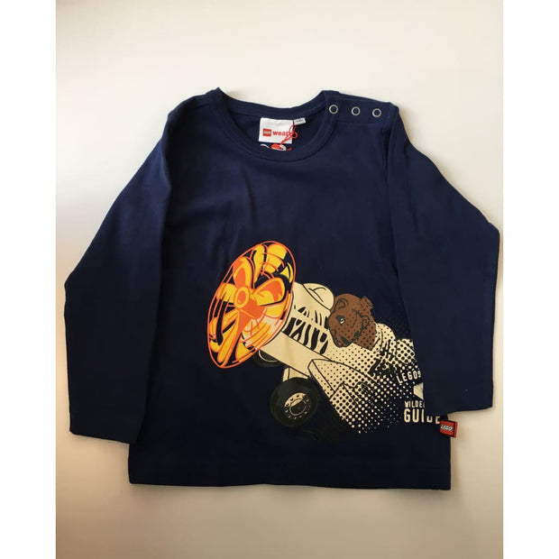 Lego Wear Navy Long Sleeve