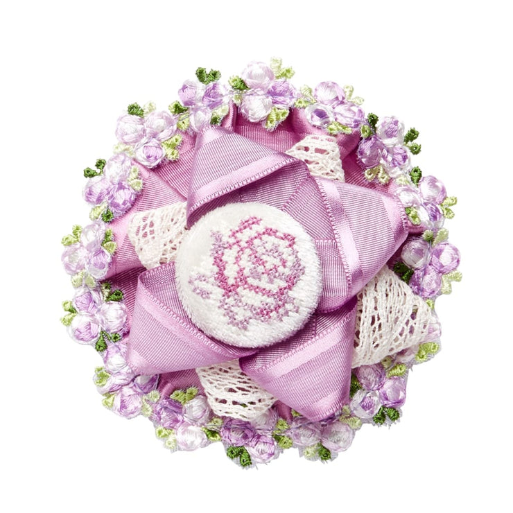 Little Darlings Parma Violet Hair Clip 5046 - Hair Accessories
