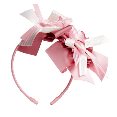 Little Darlings Pinky Rosey Glow Aliceband 5011 - Hair Accessories