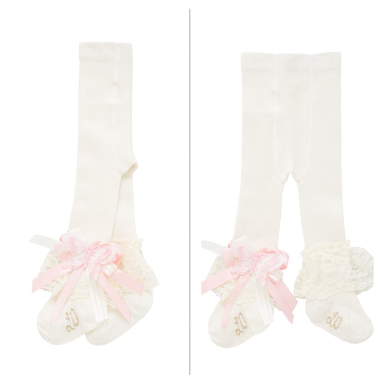 Little Darlings Pinky Rosey Glow Tights 5013 - Socks & Tights