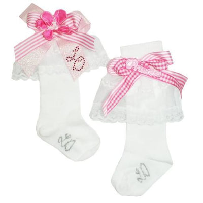 Little Darlings Princess Pinki Knee High Socks 2524 - Socks
